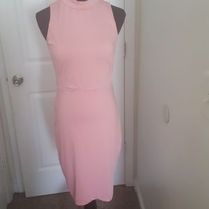 Pink Business Casual Dress